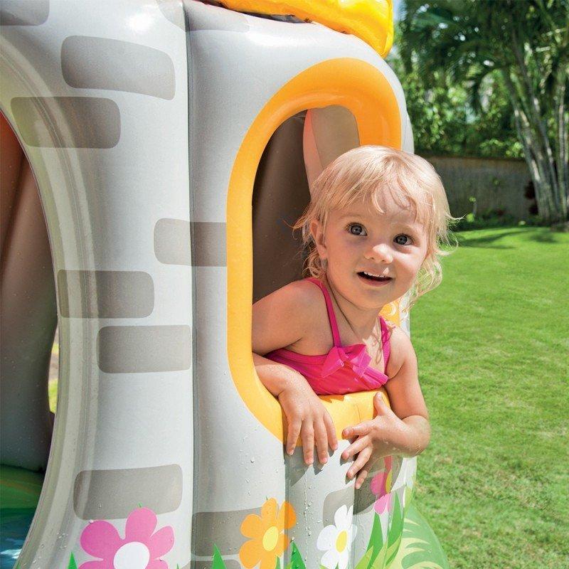 Alberca Inflable de Castillo para Bebé