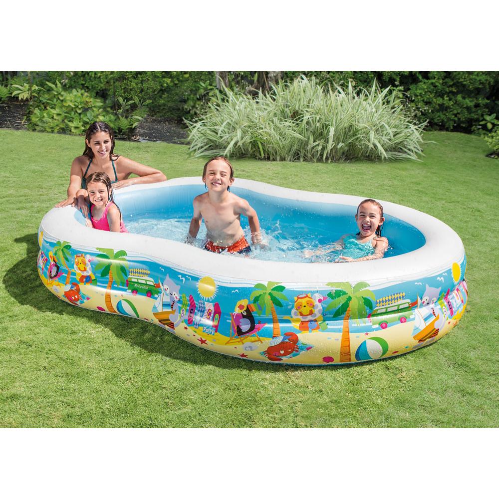 Alberca Inflable Swim Center con Diseño