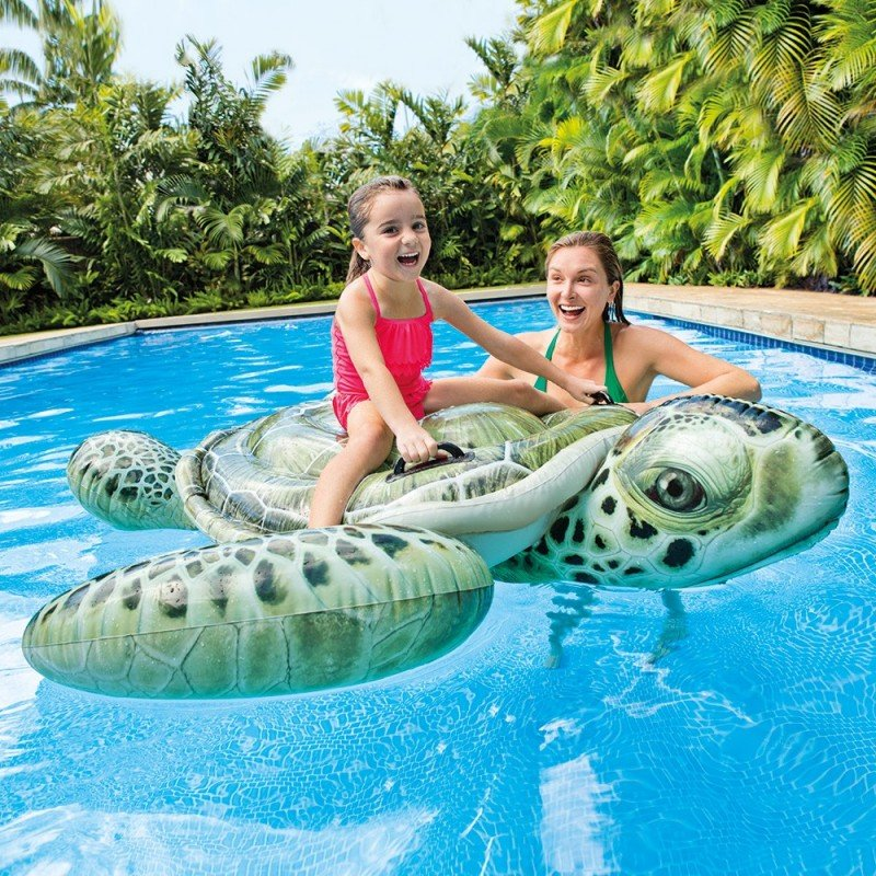 Montable Inflable de Tortuga Marina