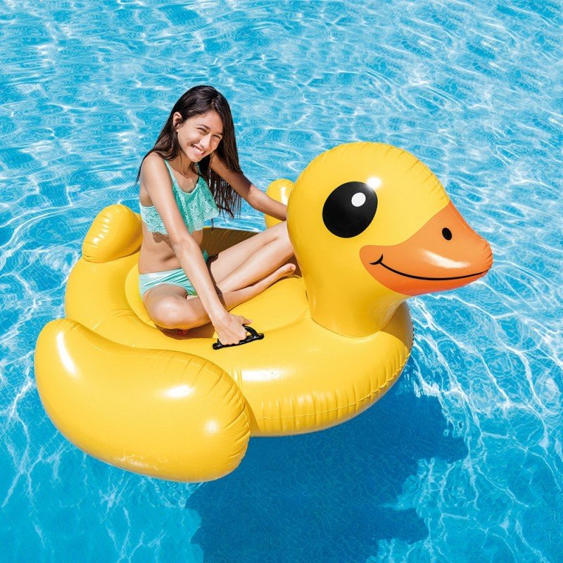 Montable Inflable de Pato