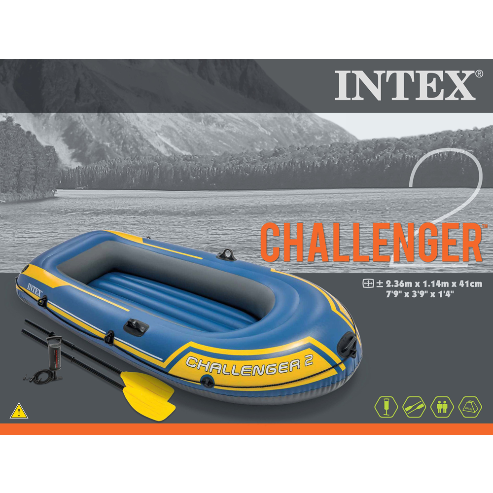 Lancha Inflable Challenger™ 2