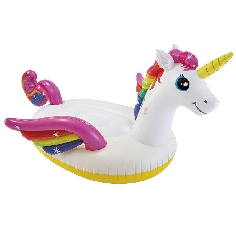 Montable Inflable de Mega Unicornio