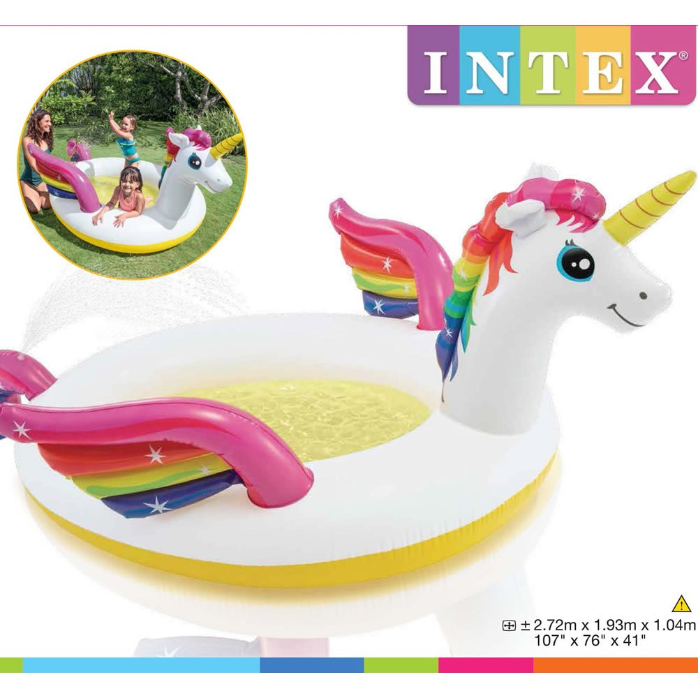 Alberca Inflable de Unicornio para Bebé