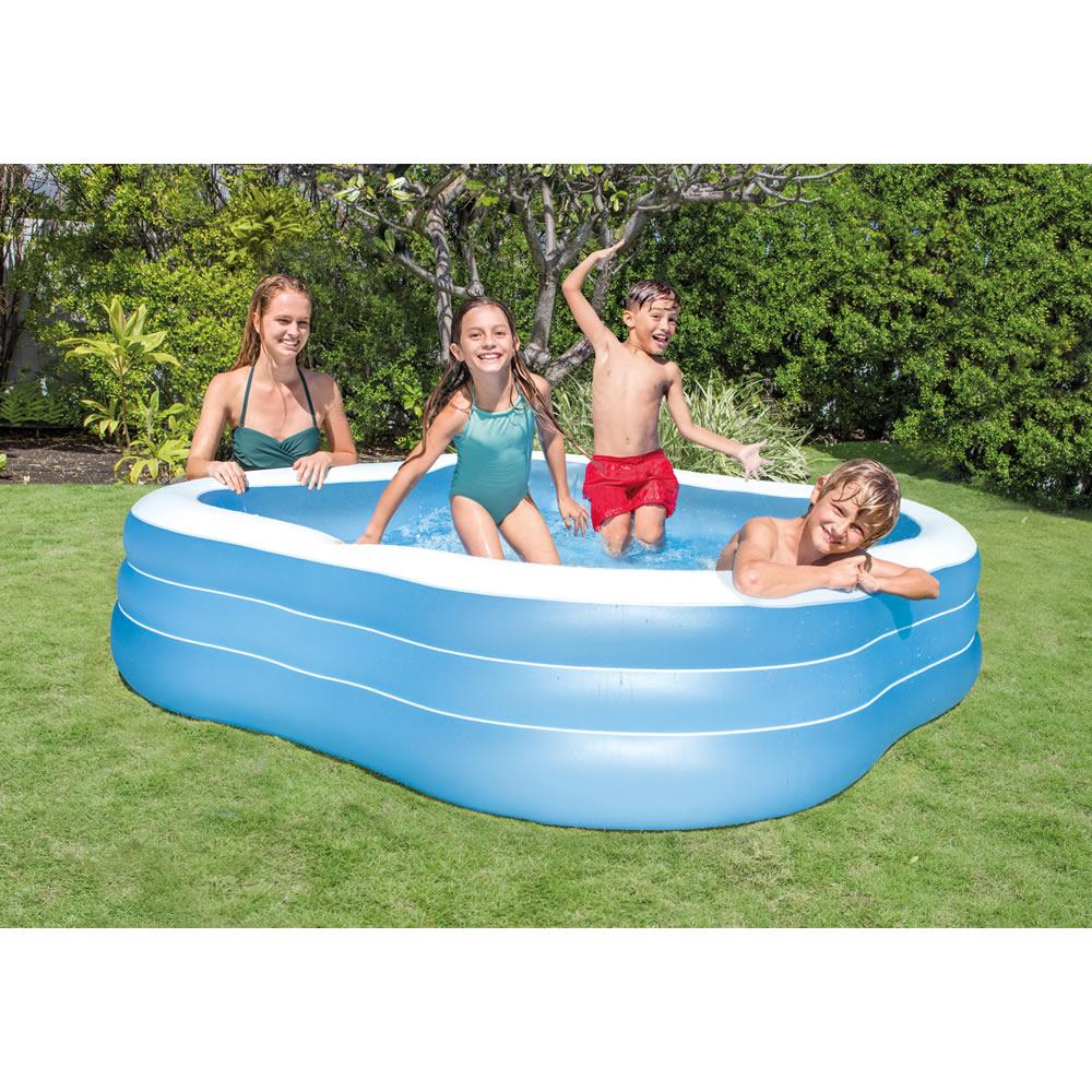 Alberca Inflable Swim Center Cuadrangular I