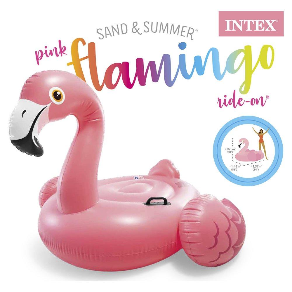 Montable Inflable de Flamingo