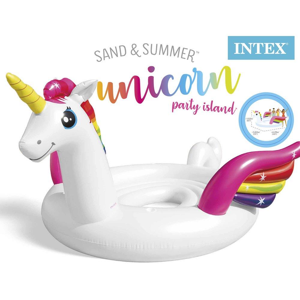 Inflable de Unicornio Island