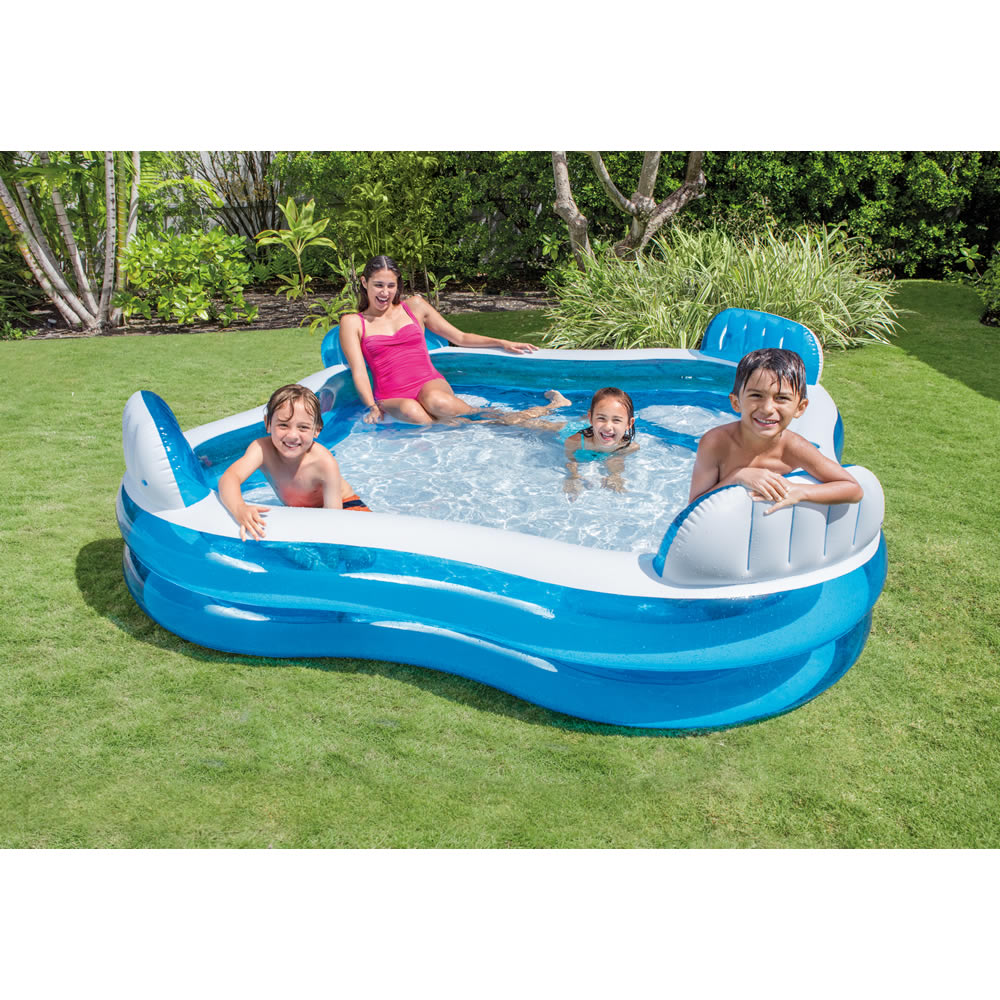 Alberca Inflable Swim Center Cuadrangular II