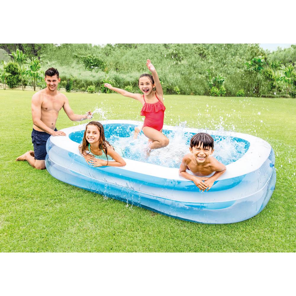 Alberca Inflable Swim Center Azul