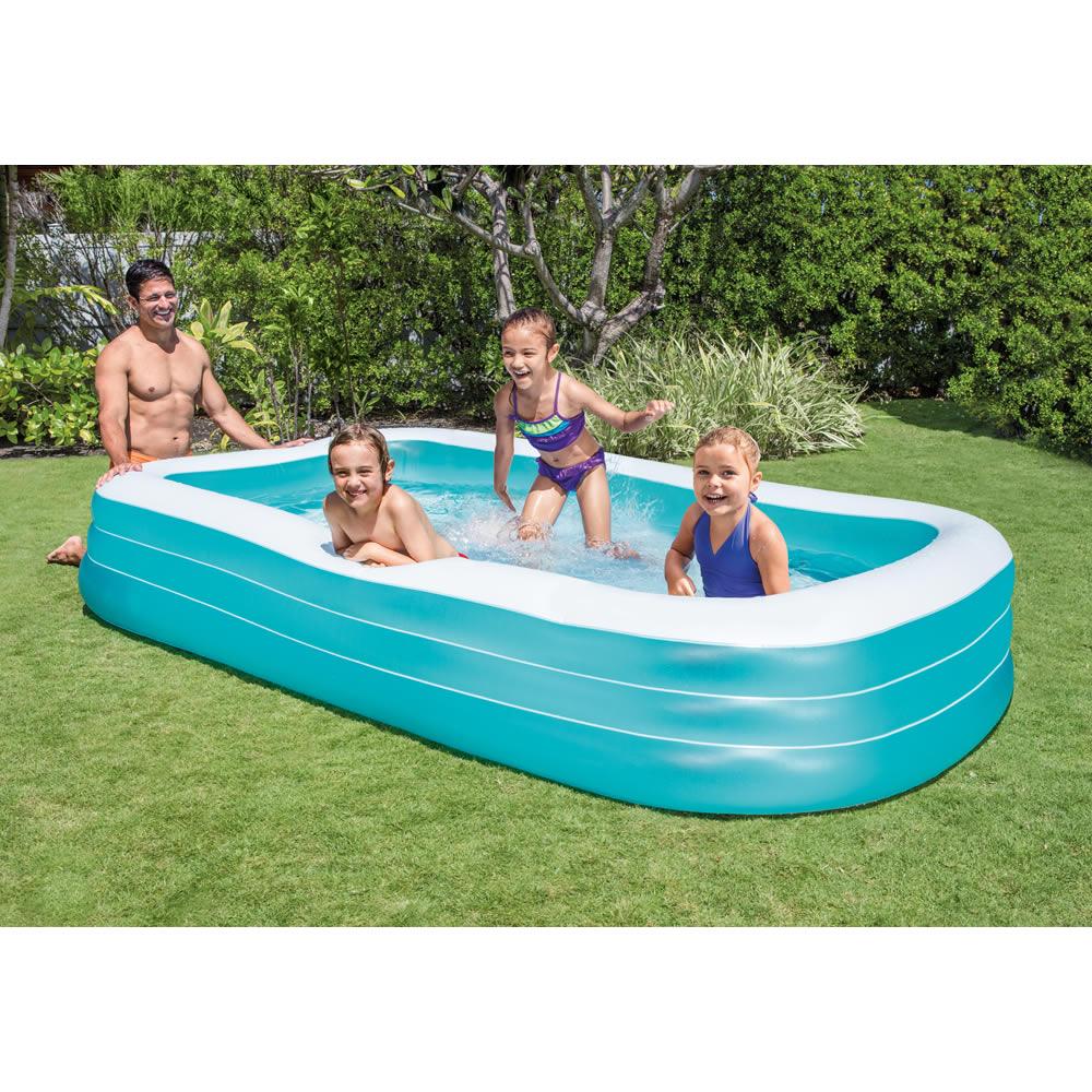 Alberca Inflable Rectangular Swim Center
