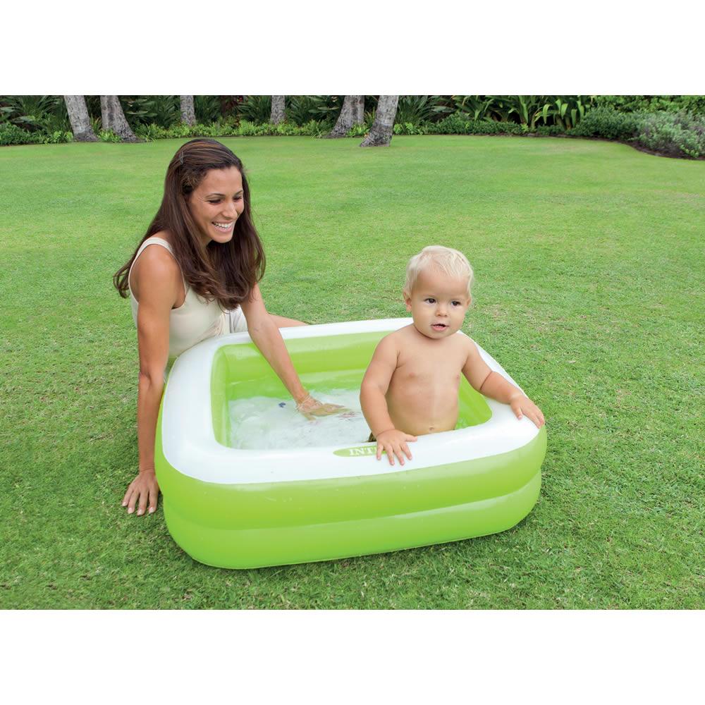 Alberca Inflable para Bebé Verde