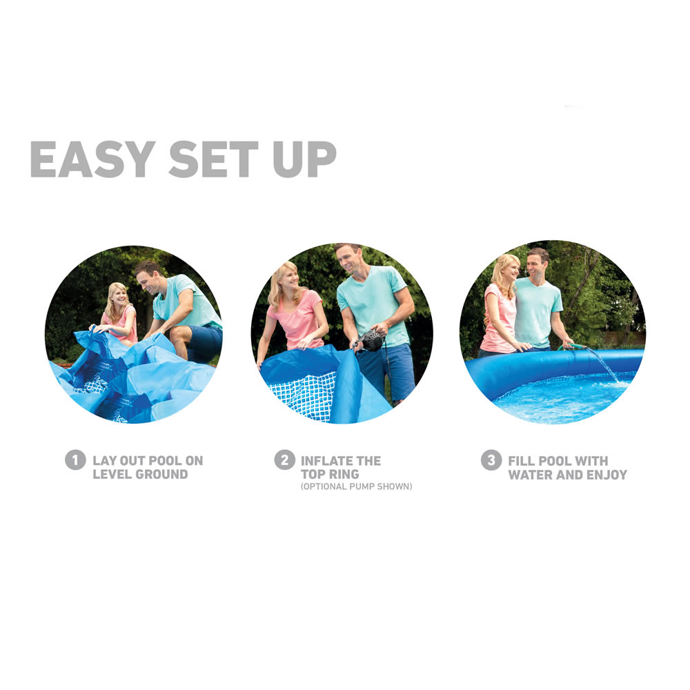 Alberca Easy Set® de 76 cm de alto