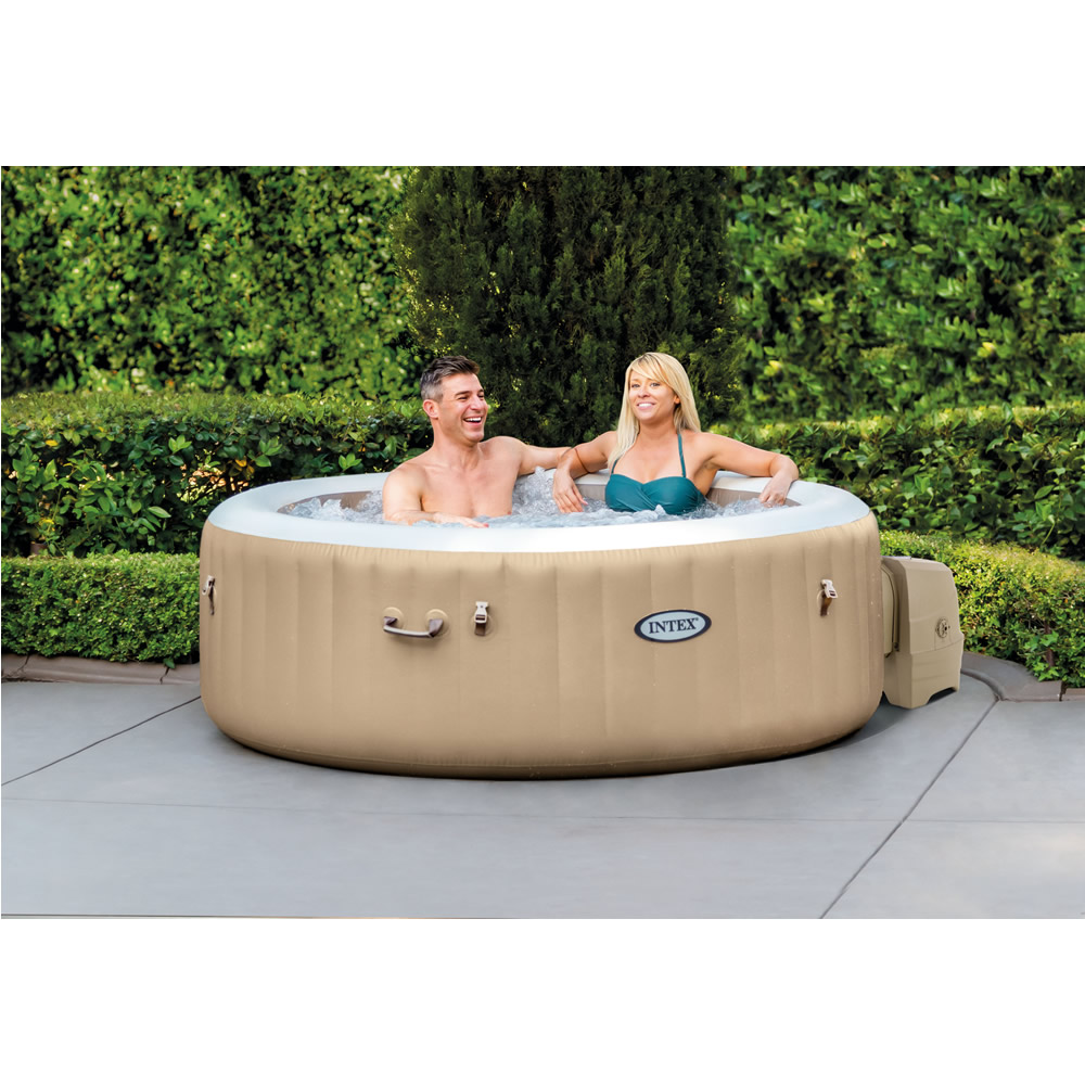 Tina de Hidromasaje Bubble Massage para 4 Personas PureSpa™
