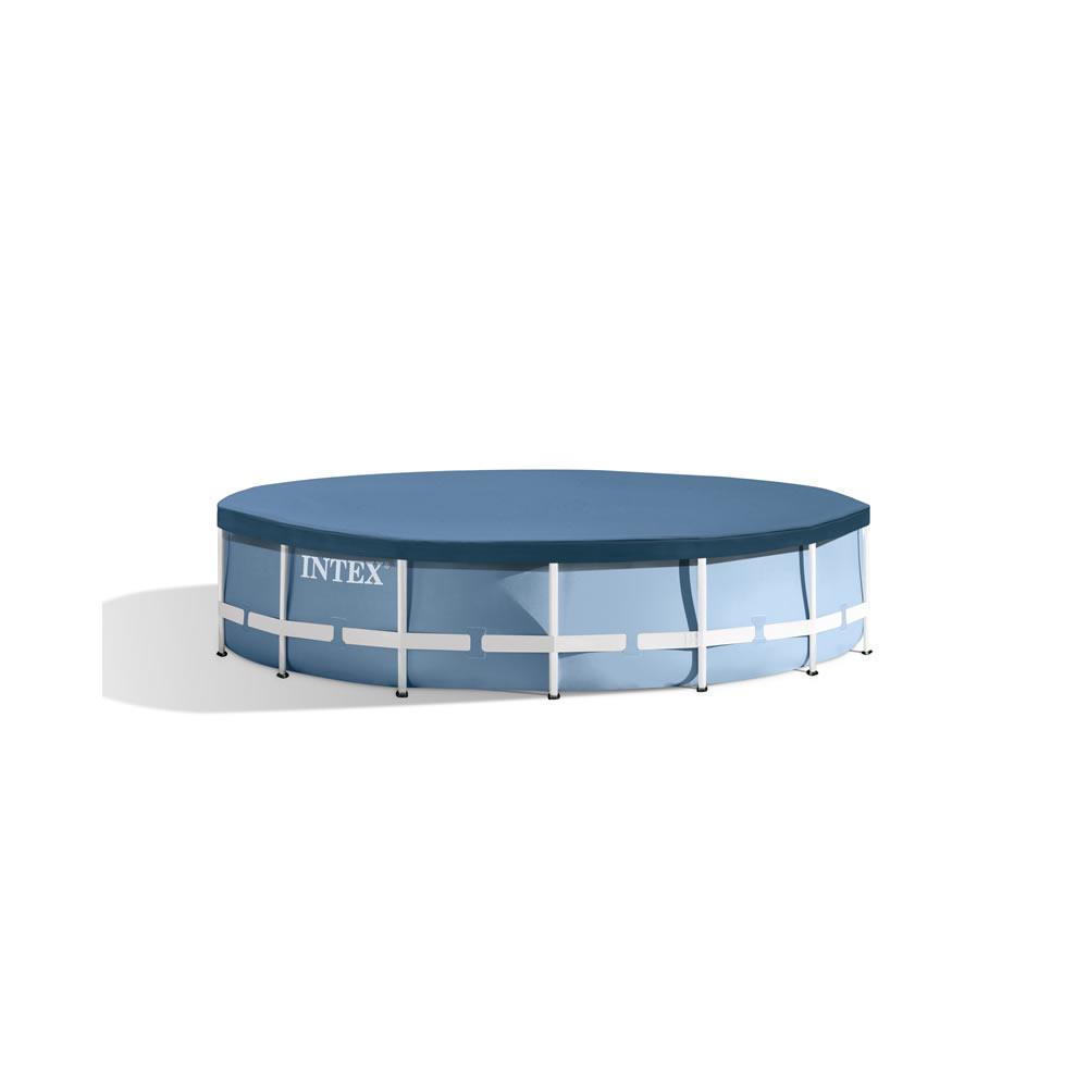 Alberca Grande Circular de 1.07 m de alto con bomba