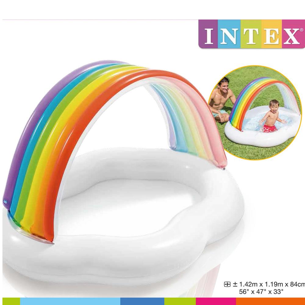 Alberca Inflable de Arcoiris para Bebé