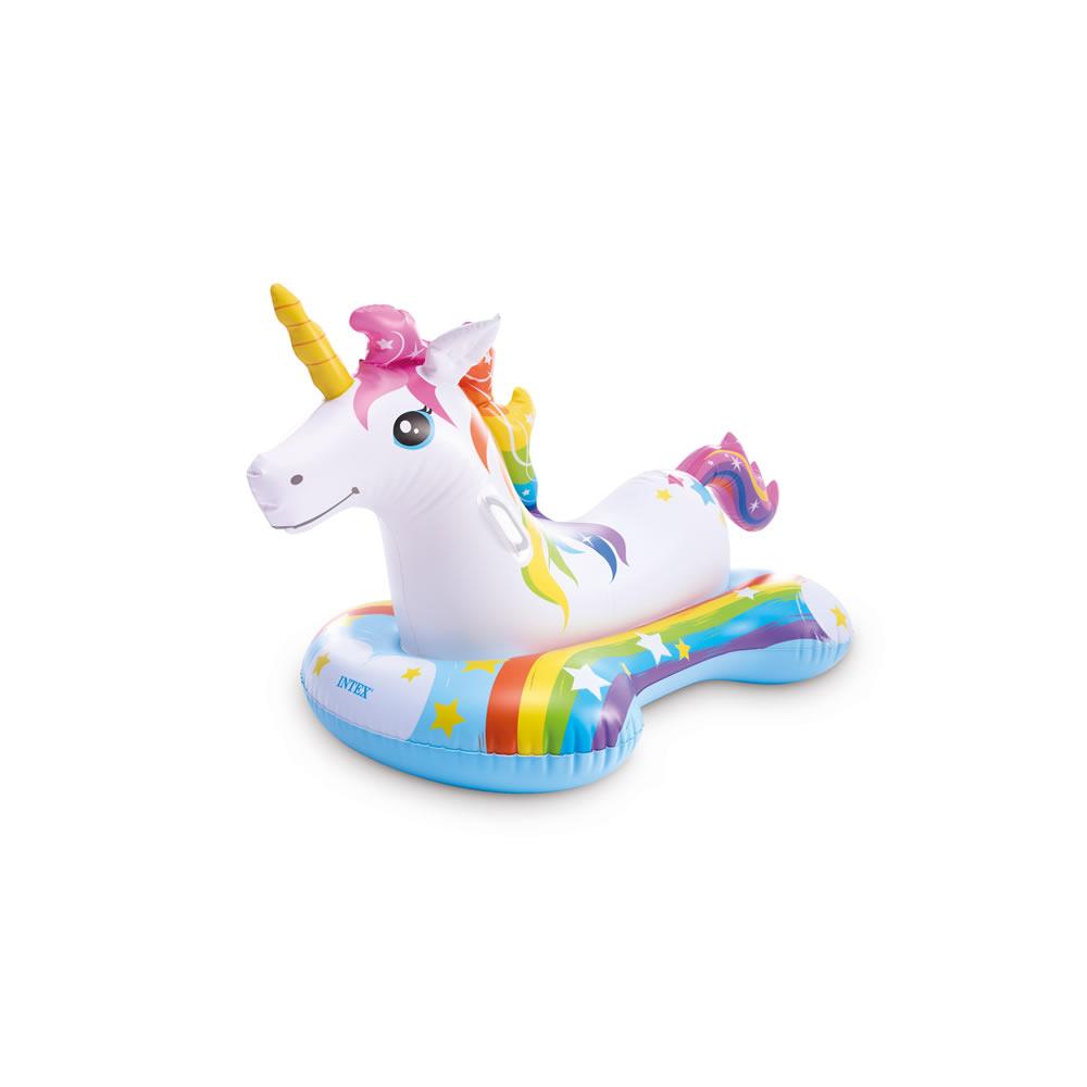 Montable Inflable de Unicornio