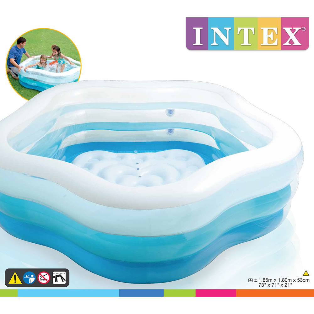 Alberca Inflable Summer Colors Azul